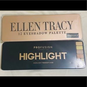 Eyeshadow and Highlight Palette Bundle